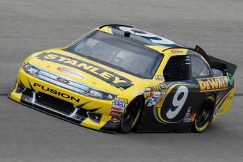 Marcos Ambrose turned a 25th-place run into a Top 10 at Darlington