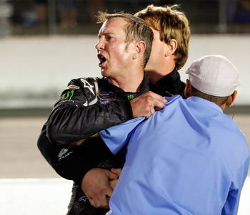 Kurt Busch's post-race tirade at Darlington did him no favors