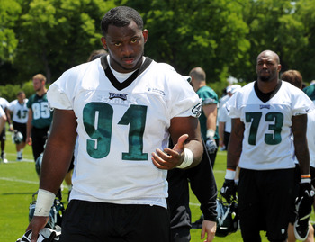 First-round pick, No. 91 Fletcher Cox