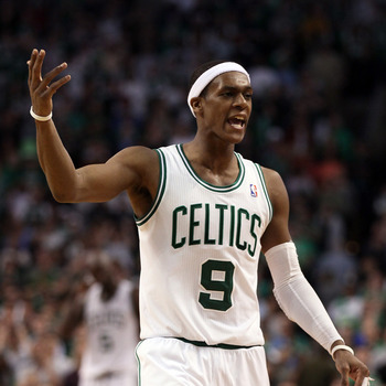 Rajon Rondo and the Celtics are slated to have two first-round picks in this year's draft.