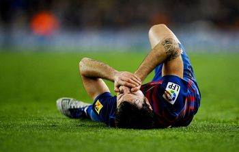 Time to get up, Cesc.