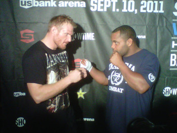 The upcoming Strikeforce Grand Prix Final will feature two West Coast Fighters. Photo from yokedup.com