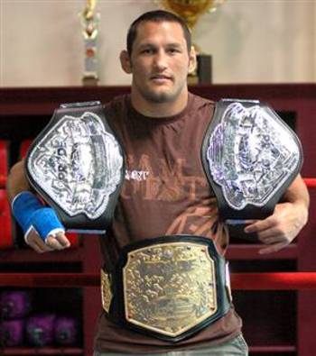 "Formerly known as Dan ""Hollywood"" Henderson was the last Pride Middleweight and Welterweight Champ. Photo from nothingbutrandom.com"