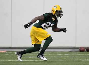 Packers' fourth round pick Jerron McMillian in Rookie Camp