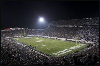 Spartan Stadium in East Lansing, Michigan.