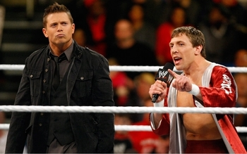 The Miz and Daniel Bryan on NXT (image courtesy of Fanpop.com)