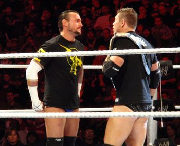 CM Punk and The Miz (courtesy of Fanpop.com)