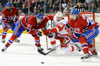 Colin Ferguson would like to see his Canadiens defeat Detroit for the Cup