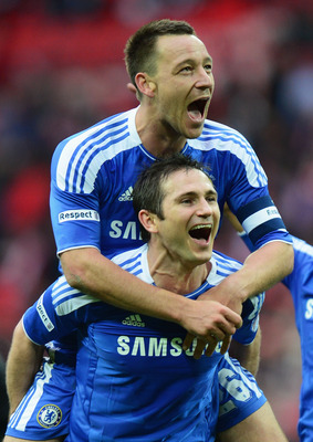 Frank Lampard and John Terry are approaching the end of their Chelsea careers.