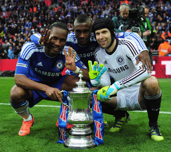 Chelsea won the FA Cup while Bayern Munich were trashed by Borussia Dortmund in the DFB Pokal Cup Final.