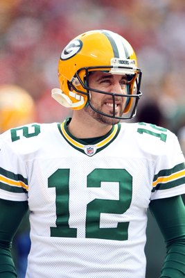 Aaron Rodgers is the leader of the Pack.