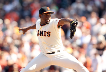 Santiago Casilla has taken over the closer's role