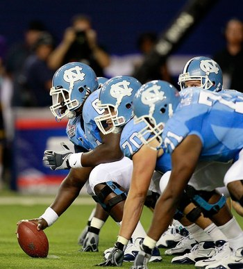 North Carolina offensive line