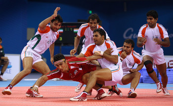The sport of Kabaddi