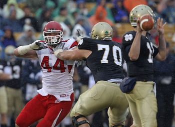 Left tackle will be vital to Notre Dame's 2012 success