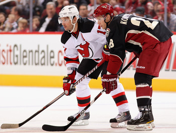 A Coyotes/Devils series seems unlikey, but would be an low-scoring, defensive battle.