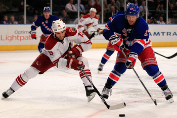 A Rangers/Coyotes series: Talk about David vs. Goliath.