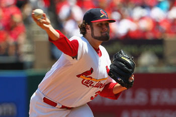 Lance Lynn took his first loss of the season against the Braves on Sunday.