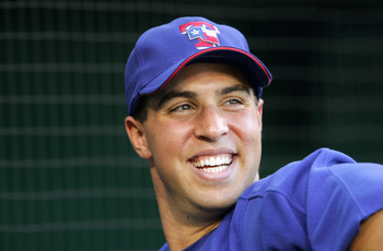 There was reason for Mark Teixeira to smile in 2005.