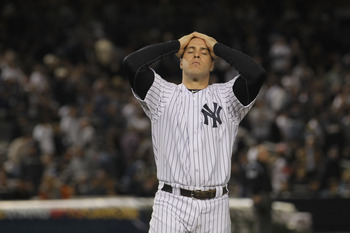 Mark Teixeira was frustrated often in 2011