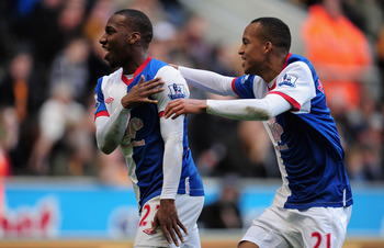 Junior Hoilett scores for Blackburn