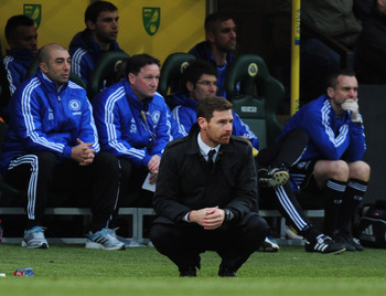 Andre Villas-Boas does his own version of the Tebow