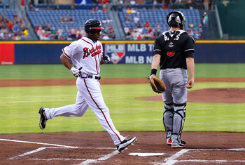 Michael Bourn has been one of the early MVP's of the 2012 season.