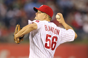 Blanton went 7 innings while giving up one run against the Mets on Monday.
