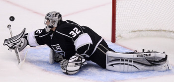 Kings goaltender Jonathan Quick leads goaltenders in every statistical category this postseason.