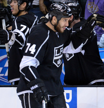 Kings grinder Dwight King emerged as a playoff hero in the Western Conference final.
