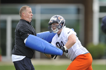 McClellin will have to play against offensive lineman with arms at some point.