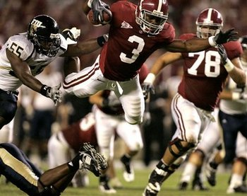Trent Richardson had Alabama flying all the way to the top last year.
