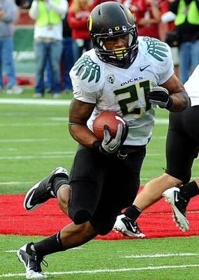 LaMichael James, a mighty Duck indeed.