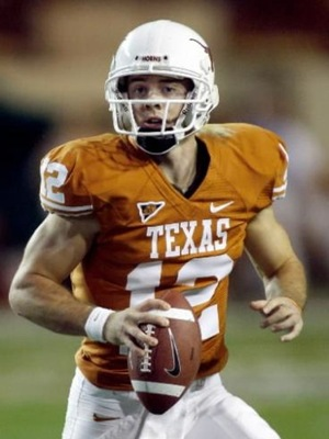 Colt McCoy, now the quarterback for the Browns, was third in the Heisman voting in 2009.