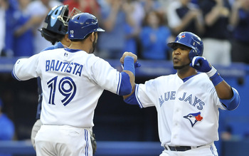 Jose Bautista has struggled at the start while Edwin Encarnacion has flourished.