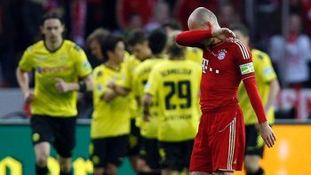 Arjen Robben cannot believe his eyes