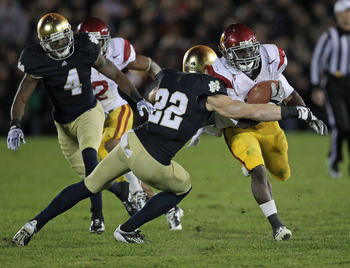 Irish haven't belonged on same field with USC in years.