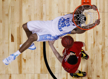 Tar Heels look down on the Terps