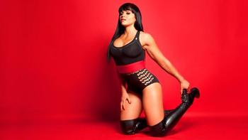 WWE could fill some time by put Antonio Cesaro in a match, which would mean we'd get to see Aksana. I feel as though that justifies the use of this picture. (Image courtesy of WWE.com)