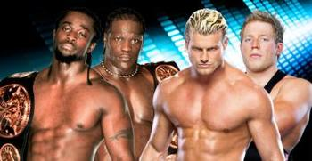 Kofi Kingston and R-Truth vs. Dolph Ziggler and Jack Swagger
