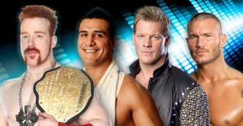 Sheamus vs. Alberto Del Rio vs. Chris Jericho vs. Randy Orton