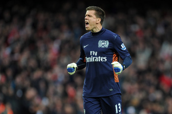 Wojciech Szczesny looks like remaining Arsenal's no. 1 for years to come.