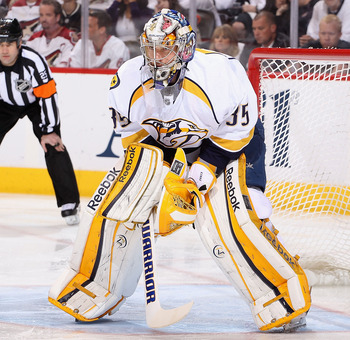 Pekka Rinne has been one of the NHL's best goalies in recent years.