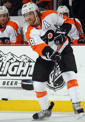 Claude Giroux emerged as an NHL superstar this season.
