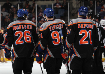 Players like Matt Moulson, John Tavares and Kyle Okposo highlight a young Islanders roster.