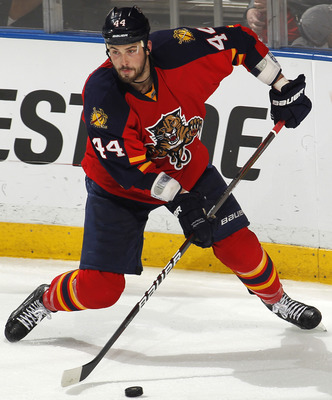 Panthers monsterous defender Erik Gudbranson should be dishing out big hits in Sunshine, Florida for seasons to come.