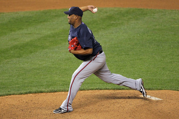 Livan Hernandez has pitched very well in relief.