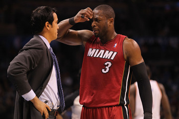 After fighting with Erik Spoelstra in Game 3, Wade needs to be a leader the rest of the series.