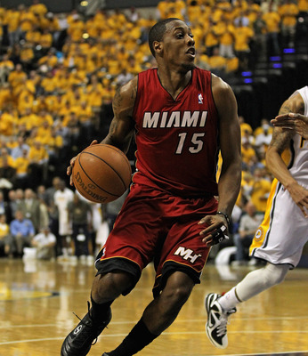 Mario Chalmers needs to continue to score if the Heat want to win.