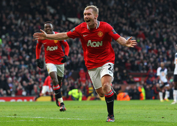 Paul Scholes rejoined Manchester United after a brief retirement